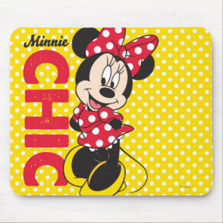 Red Minnie | Chic Mouse Pad