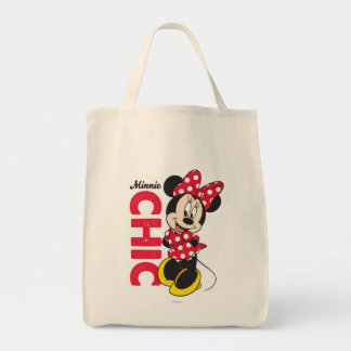 Red Minnie | Chic Tote Bag
