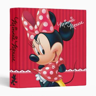 Red Minnie   Cute 3 Ring Binder