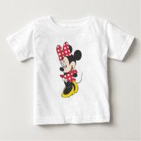 Red Minnie   Cute Baby T-Shirt