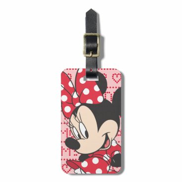 MickeyAndFriends Red Minnie | Cute Bag Tag