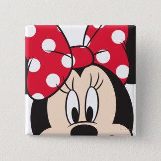 Red Minnie | Cute Closeup Button