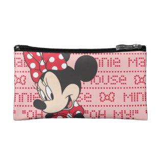 Red Minnie   Cute Makeup Bag at Zazzle