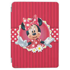 Red Minnie | Flower Frame Ipad Air Cover at Zazzle
