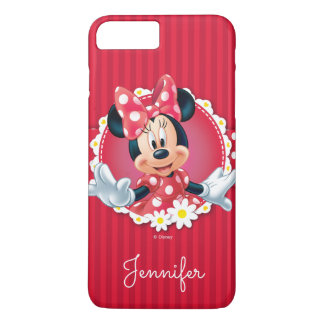Red Minnie | Flower Frame | Your Name iPhone 8 Plus/7 Plus Case