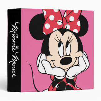 Red Minnie | Head in Hands Binder