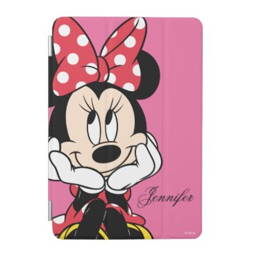Disney Themed Red Minnie | Head in Hands iPad Mini Cover
