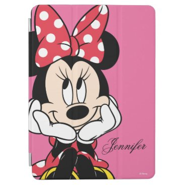 Disney Themed Red Minnie | Head in Hands iPad Pro Cover