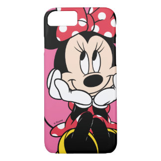 Red Minnie | Head in Hands iPhone 7 Case