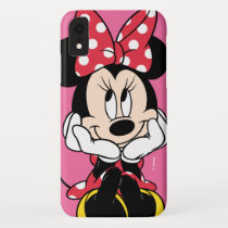 Red Minnie | Head in Hands iPhone XR Case