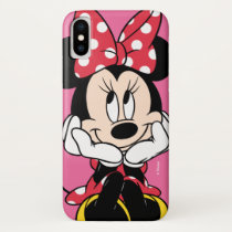 Red Minnie | Head in Hands iPhone XS Case