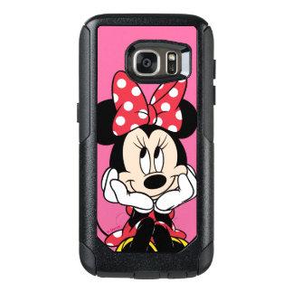 Red Minnie   Head in Hands OtterBox Samsung Galaxy S7 Case