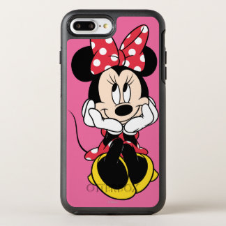 Red Minnie | Head in Hands OtterBox Symmetry iPhone 7 Plus Case