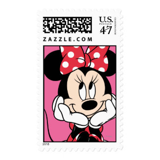 Red Minnie | Head in Hands Postage