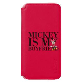 Red Minnie | Mickey is My Boyfriend iPhone 6/6s Wallet Case