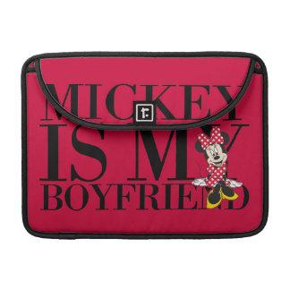 Red Minnie | Mickey is My Boyfriend MacBook Pro Sleeve