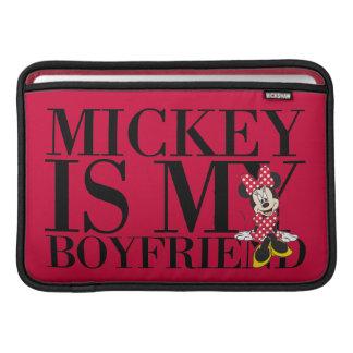 Red Minnie | Mickey is My Boyfriend MacBook Sleeve