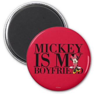 Red Minnie | Mickey is My Boyfriend Magnet