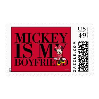 Red Minnie | Mickey is My Boyfriend Postage