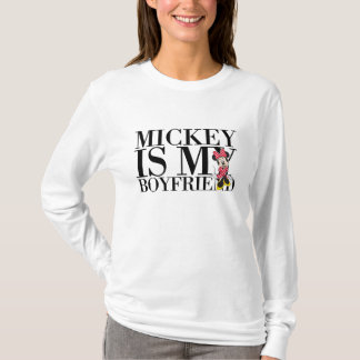 Red Minnie | Mickey is My Boyfriend T-Shirt