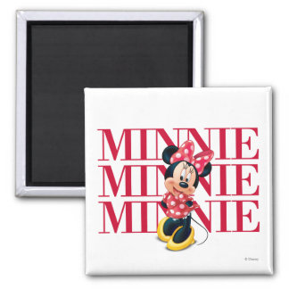 Red Minnie | Name Magnet