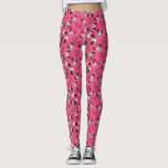 "Red Minnie | Pink Pattern Leggings<br><div class=""desc"">Minnie Mouse</div>"