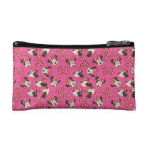 Red Minnie | Pink Pattern Makeup Bag
