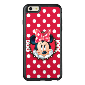 Red Minnie | Polka Dot Frame OtterBox iPhone 6/6s Plus Case