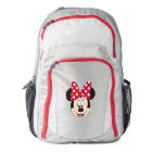 Red Minnie | Polka Dots Backpack