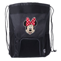 Red Minnie | Polka Dots Drawstring Backpack