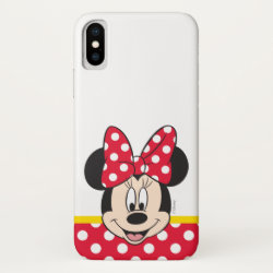 Case-Mate Barely There iPhone X Case with Anna's Frozen Adventure design