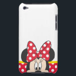 "Red Minnie | Polka Dots iPod Touch Case<br><div class=""desc"">Mickey Mouse: Minnie Mouse</div>"