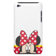 Red Minnie | Polka Dots Ipod Touch Case at Zazzle