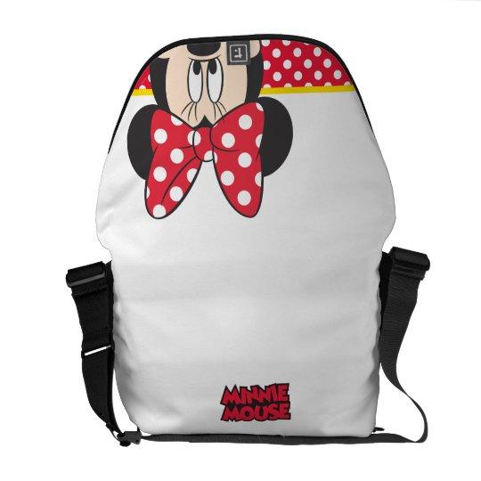 Red Minnie | Polka Dots Messenger Bag