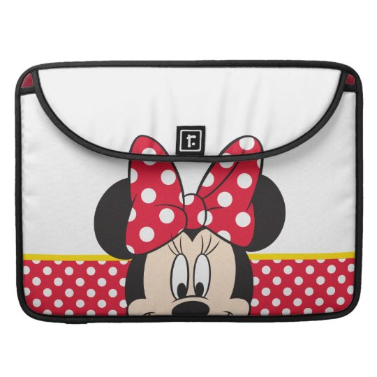 Red Minnie | Polka Dots Sleeve For MacBook Pro