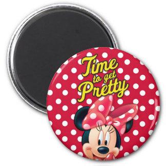 Red Minnie | Pretty 2 Inch Round Magnet