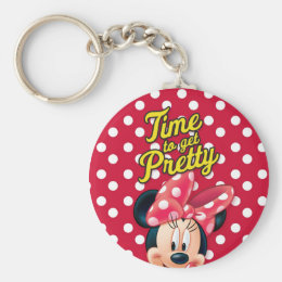 Red Minnie   Pretty Keychain