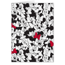 Red Minnie | Red Bow Pattern