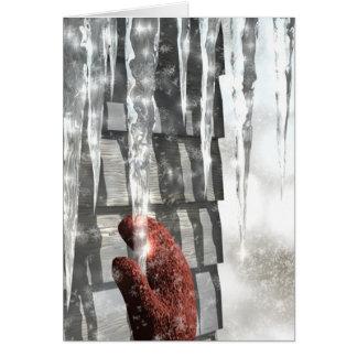 Red Mitten Card