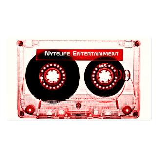Red Mixtape Business Card