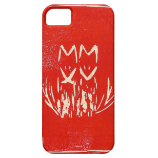 Red MMXV (2015) Foxy Foxes iPhone SE/5/5s Case