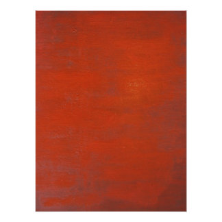 Red Modern Art Poster