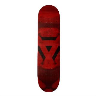 Red modern pattern skateboard decks