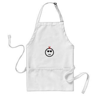 Red Mohawk Adult Apron