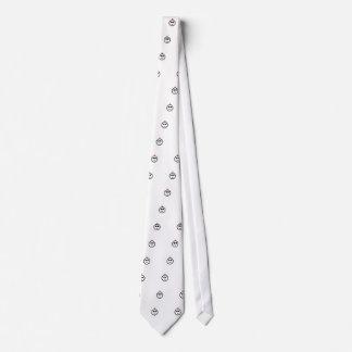 Red Mohawk Neck Tie