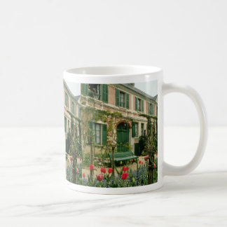 Red Monet's house and garden, Giverny, northern Fr Classic White Coffee Mug