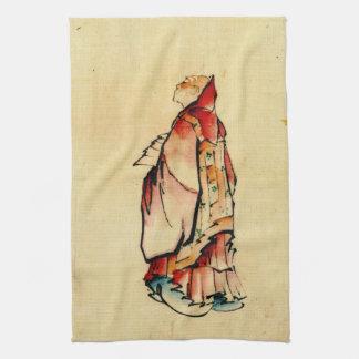 Red Monk 1840 Kitchen Towel