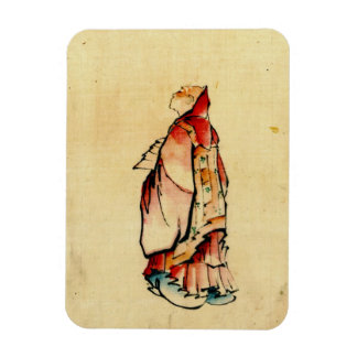 Red Monk 1840 Magnet
