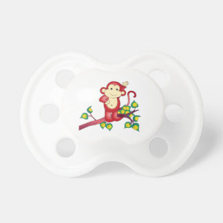 Red Monkey Chinese New Year 2016 Pacificer Pacifier