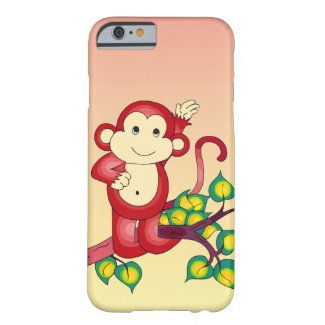 Red Monkey iPhone 6 Case